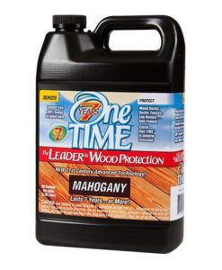 One TIME Mahogany 1 Gallon