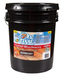 One TIME Mahogany 5 Gallon
